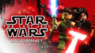 Star Wars: The Last Jedi LEGO Summary