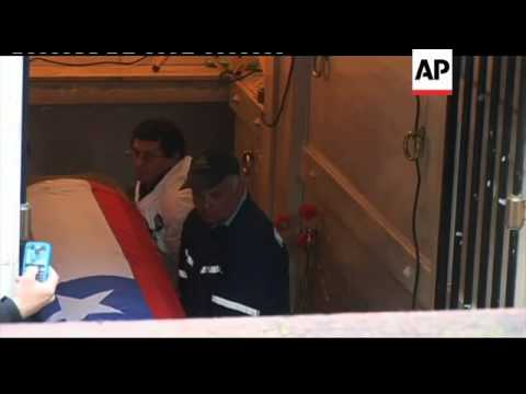 4:3 Remains of president exhumed to find cause of death