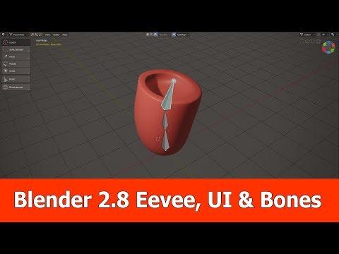 Смотрите сегодня видео новости Blender 2 8 Features : Eevee, UI & Bones на  онлайн канале Russia-Video-News Ru