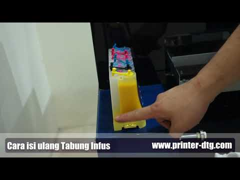 This Video describes the procedure by which you can refill your printer at home very simply so frien.