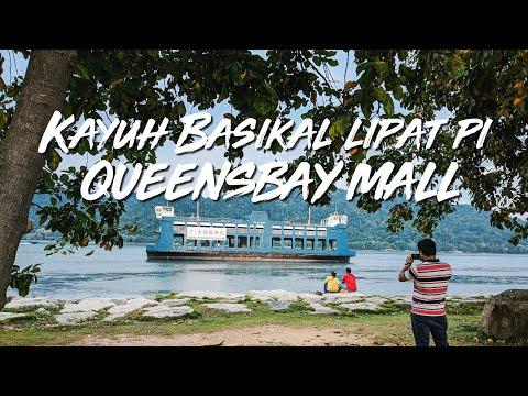 Kayuh Basikal Lipat Pi Queensbay Mall | Belajar Editing Power Director Mobile Letak Subtitle