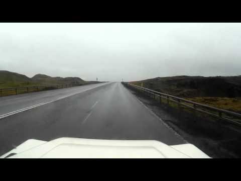 Driving Around Iceland - Day 1 - Reykjavík to Skaftafell
