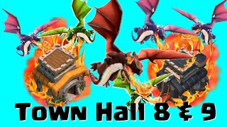 Clash of Clans Strategy | SuperDragoon | Clash of Clans Town Hall 8, 9
