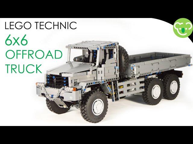 6x6 Offroad Truck - Lego Technic MOC powered by Buwizz