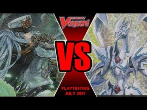 Thing Saver Vs Thavas - Cardfight Vanguard Playtesting July 2017