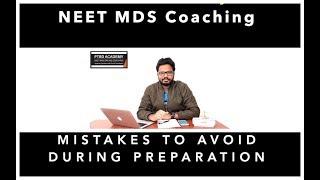 Mistakes To Avoid During Preparation | Memorising MCQs