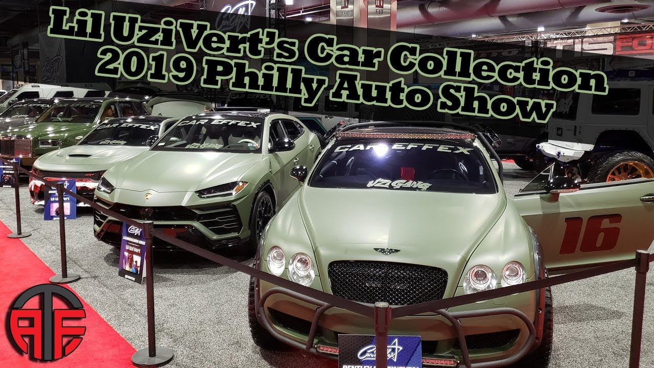 Lil Uzi Cars Collection On Display At The 2019 Philadelphia Auto Show Youtube