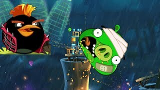 Angry Birds 2 - FORCE ALL STONE TO KING PIG! BOMBER BLAST!