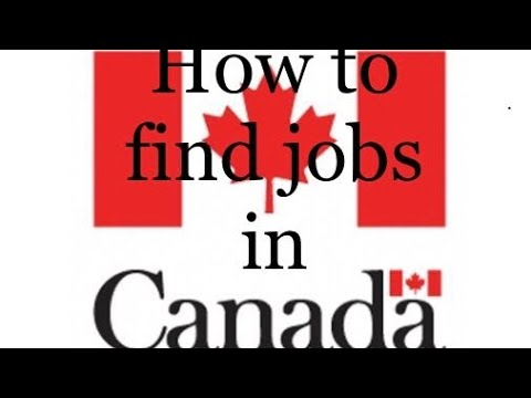 How To Find Jobs In Canada || Job Bank