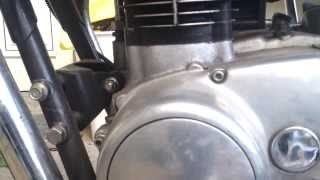 XS 650 - running engine - rattle