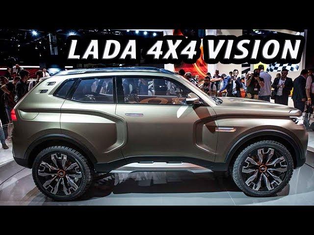 new lada 4x4 lada vision exterior