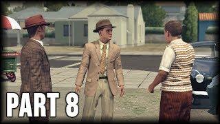 L.A. Noire - 100% Walkthrough Part 8 [PS4] – A Slip of the Tongue