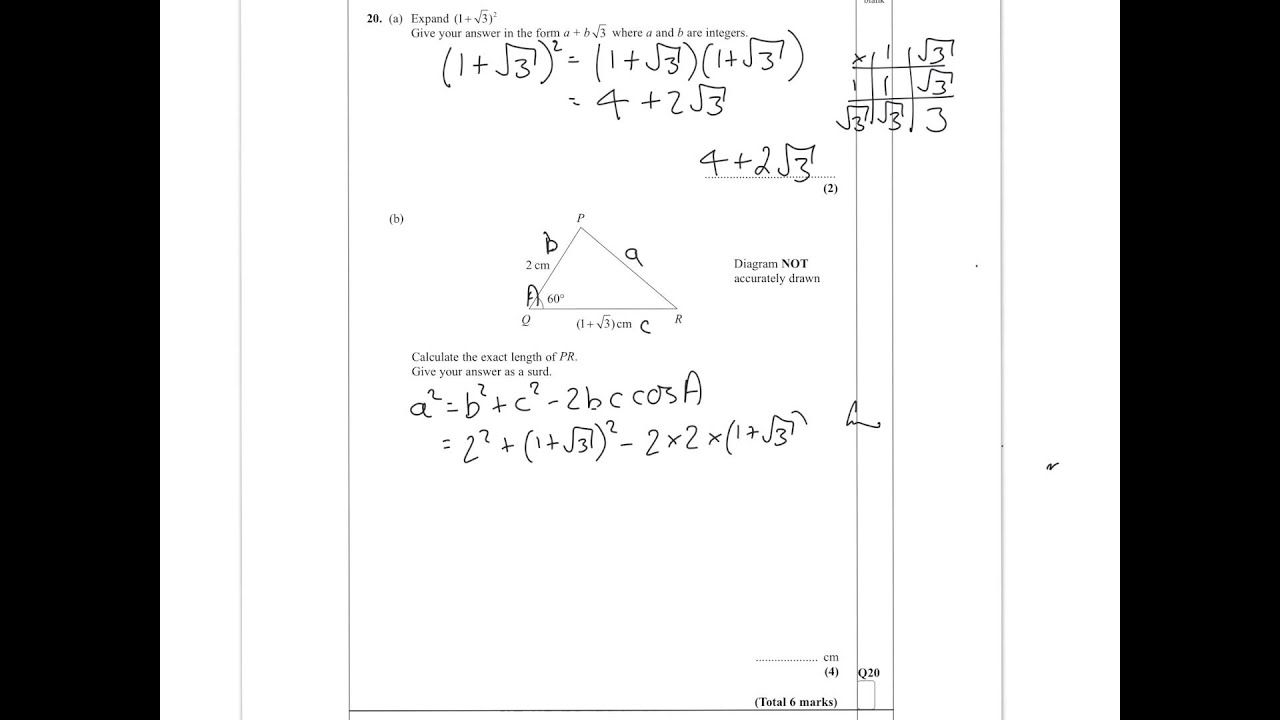Edexcel igcse mathematics past papers Term paper Sample - August 2019