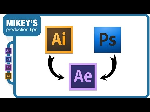 Importing Photoshop And Illustrator Files To After Effects