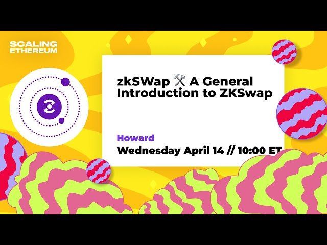 zkSWap - A General Introduction to ZKSwap