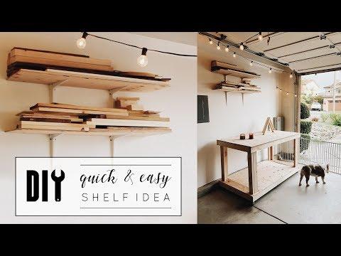 DIY Easy Shelf Idea