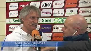 Salernitana - Pescara 2-4: Giuseppe Pillon