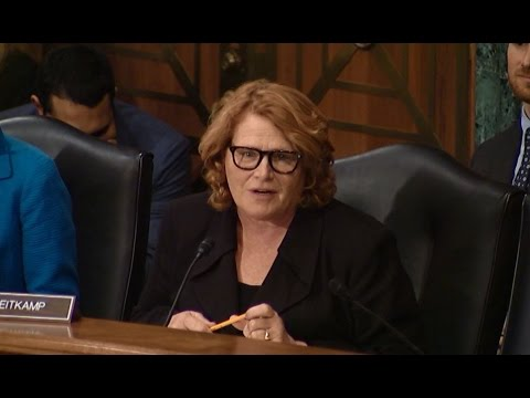 Heitkamp Stresses Importance of Housing at Senate Committee Hearing