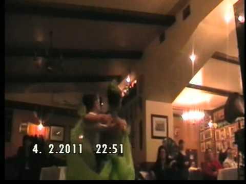 Tango copii, dans sportiv, Raluca si Bogdan