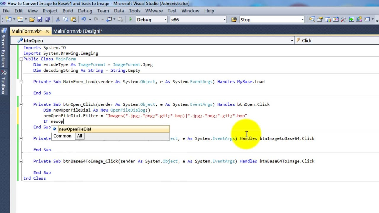 Base64 Encode Excel