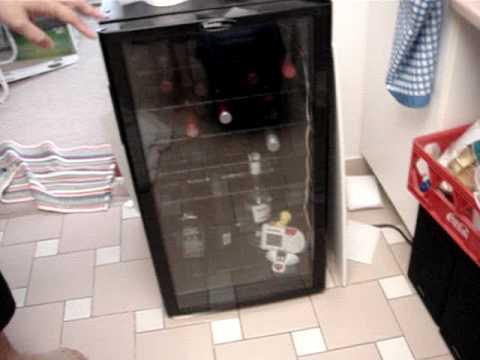 Danby Designer Dwc310bl 35 Bottle Wine Cooler Review Youtube