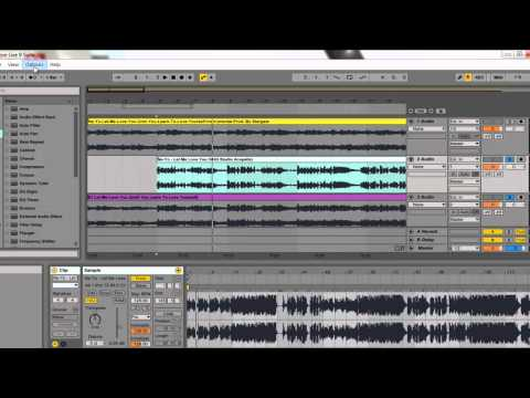 Ableton: How To Make Mashups (Tutorial) (Part 1)
