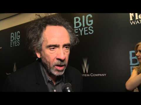 Big Eyes: Director Tim Burton Red Carpet Premiere Interview