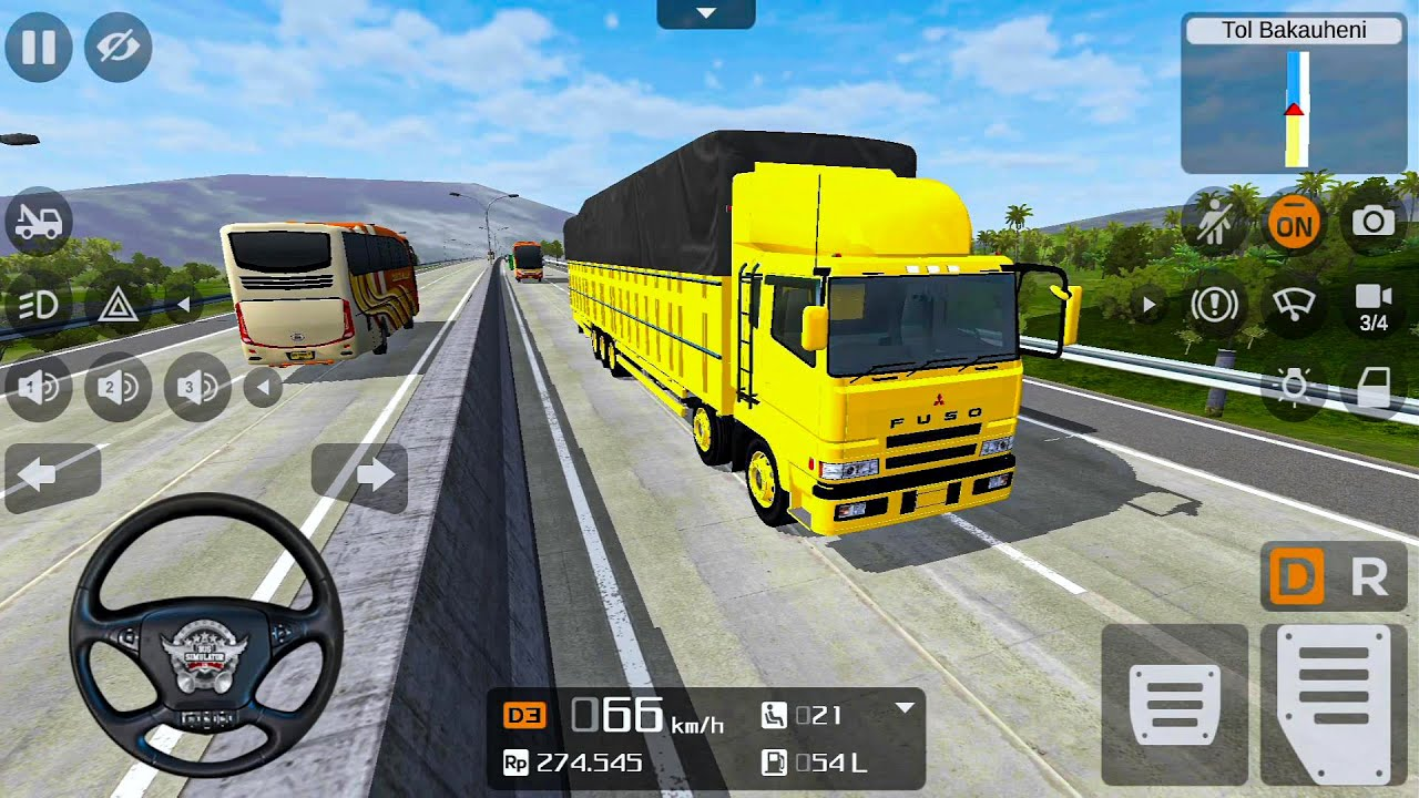 Bus Simulator Indonesia Ep4 - Fun Bus Games! Android gameplay