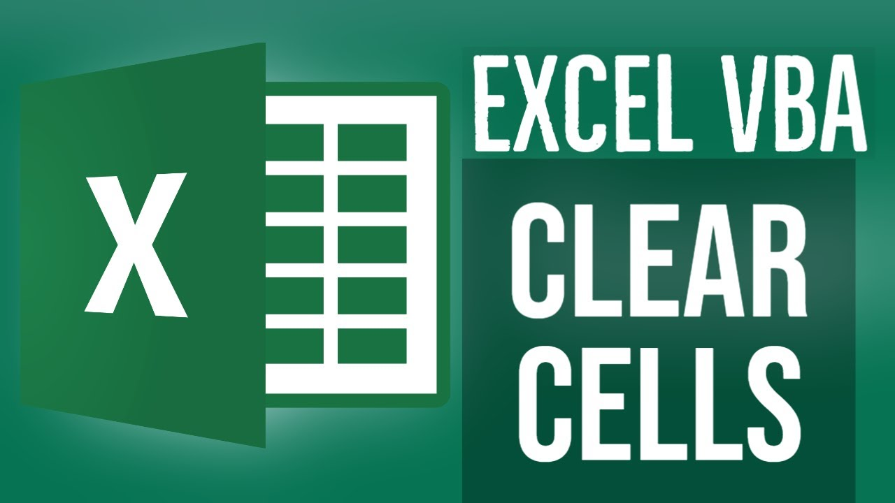 Excel VBA Tutorial for Beginners 16 - Clear Cells in Excel using VBA
