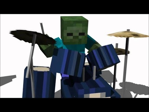 Stressed out minecraft music video Twenty One Pilots