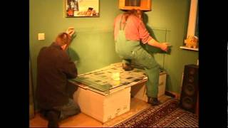 Eigenbau eines 750 l Aquariums Teil 1. Construction of a 750 l tank part 1