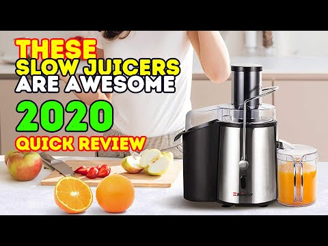 Slow Juicer Best I Test 2017 : Top 10 juicers 2017 buzzpls.Com