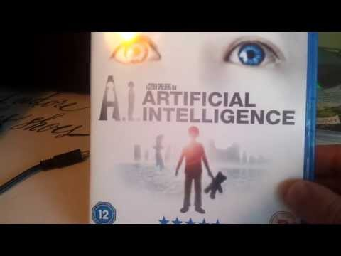 Unboxing A.I. Artificial Intelligence Blu Ray
