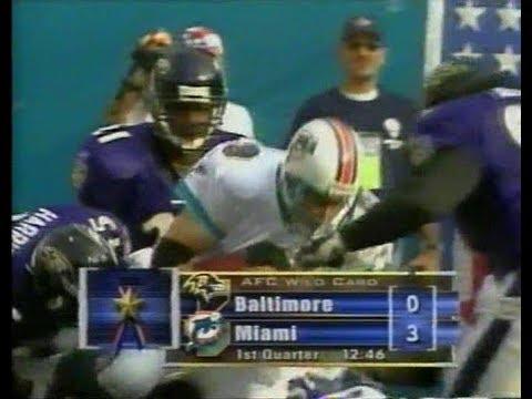 186958fd7 2002-01-13 AFC Wild Card Baltimore Ravens vs Miami Dolphins