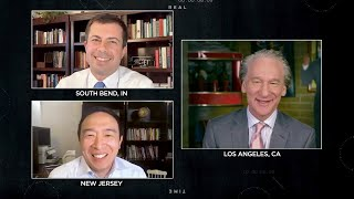 Andrew Yang returns to Real Time with Bill Maher (Full Interview)