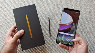 Samsung Galaxy Note 9 Unboxing urdu