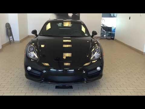 2015 Porsche Cayman S Motorized plate