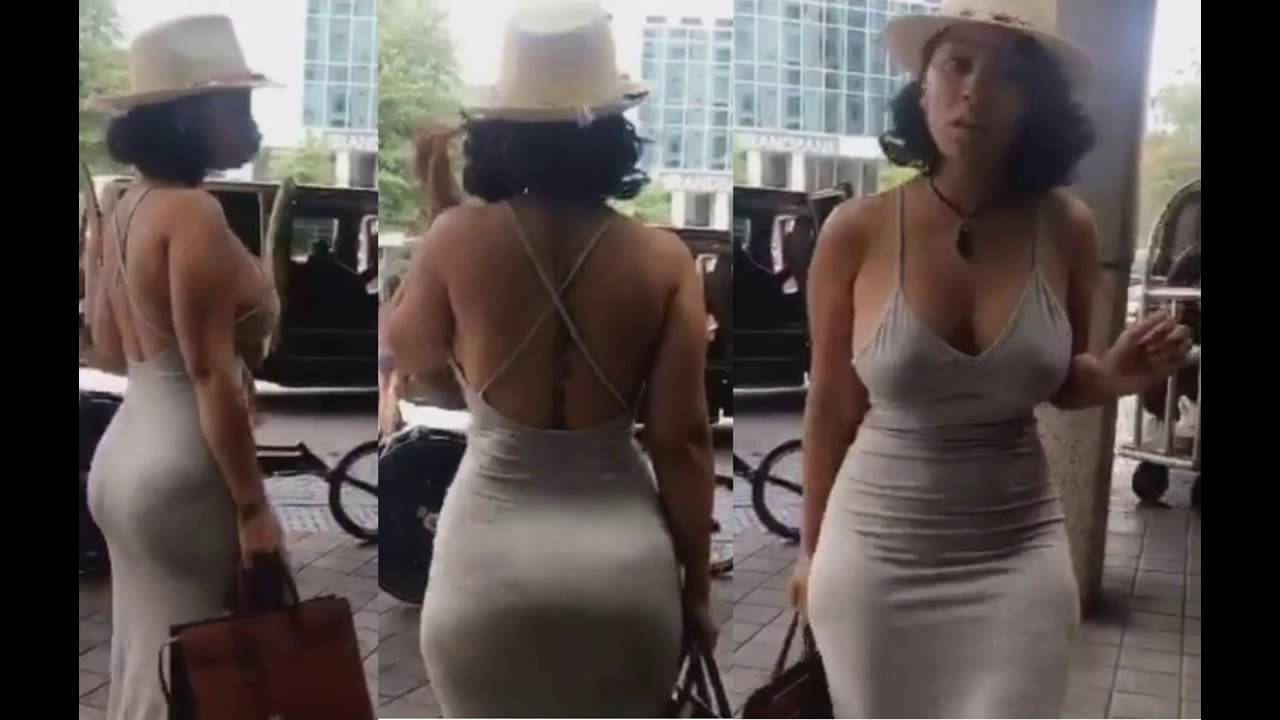 Tammyrivera Wears Dress Thats Sure To Make Wakaflockflame Jealous