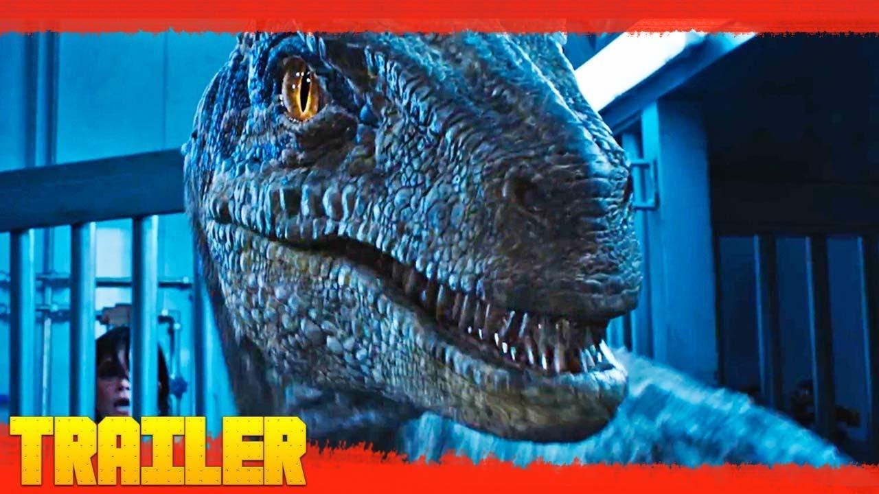 Jurassic World 2 El Reino Caído 2018 Nuevo Tráiler Oficial 3 Español Youtube