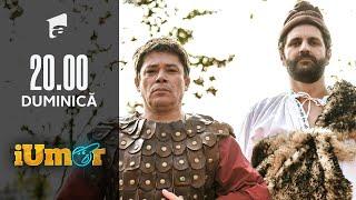 iRoast Istoric | Traian și Decebal, dialog amuzant despre începuturile neamului românesc, la iUmor