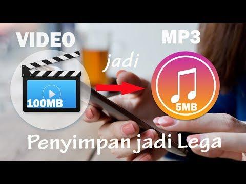 Cara Merubah Video Menjadi Musik MP3, Penyimpanan Jadi Lega Deh !!! 🙆