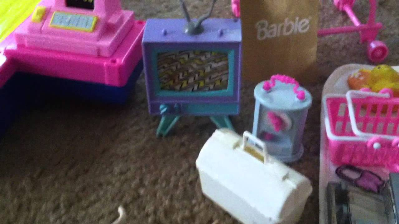 Found Barbie accessories in storage from the 1980s and ...