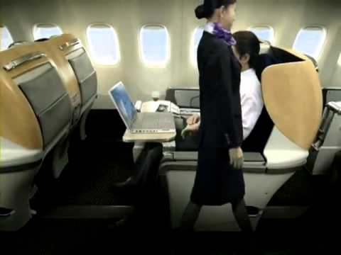 ANA (All Nippon Airways) Services For International Flights Video