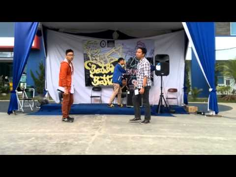 Rizky Vs Ronaldo  1/16 Final Lampung Beatbox Battle 2014 Beatbox For Fun