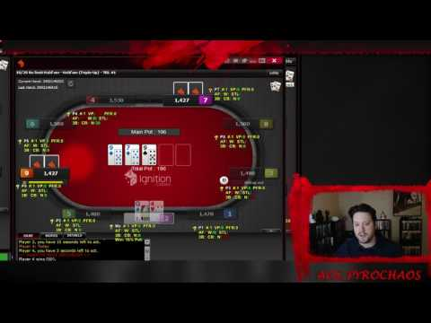 Ignition Cash and Triple ups (1-25-2017 poker stream)