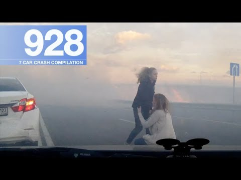 Car Crash Compilation 928 - October 2017