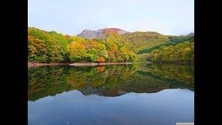 JG 4K HDR 青森 白神山地 十二湖の紅葉 Shirakami Juniko in Autumn,Aomori