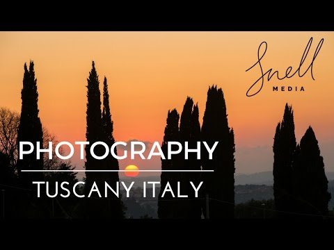 Photography while Cycling the Tuscan Hills