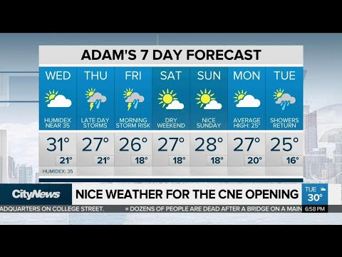 Sunny day Wednesday, but wet weather on the way