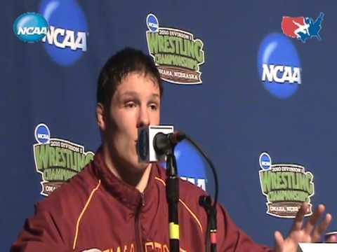 : 285pound NCAA Champion David Zabriskie of Iowa State